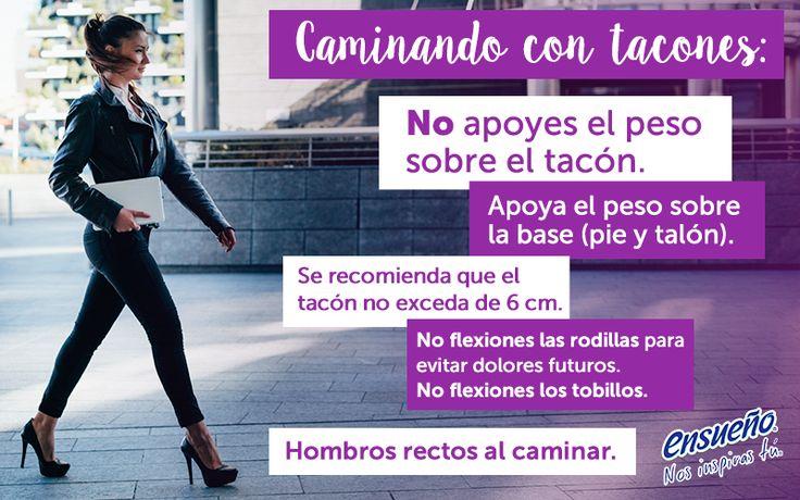 Caminar en tacón es todo un arte. Es por eso que no debes perderte estos útiles consejos.  #tacón #zapatos #belleza #moda #Ensueño #zapatillas