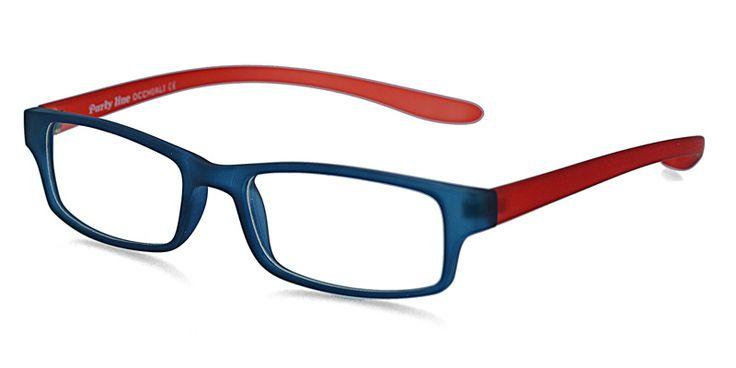 Reece Jakob 6025 Blue w/Red Eyeglasses From $59