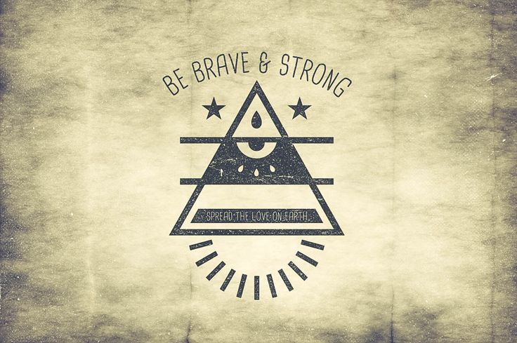 Hipster Triangle Badges by TSV Creative on @creativemarket