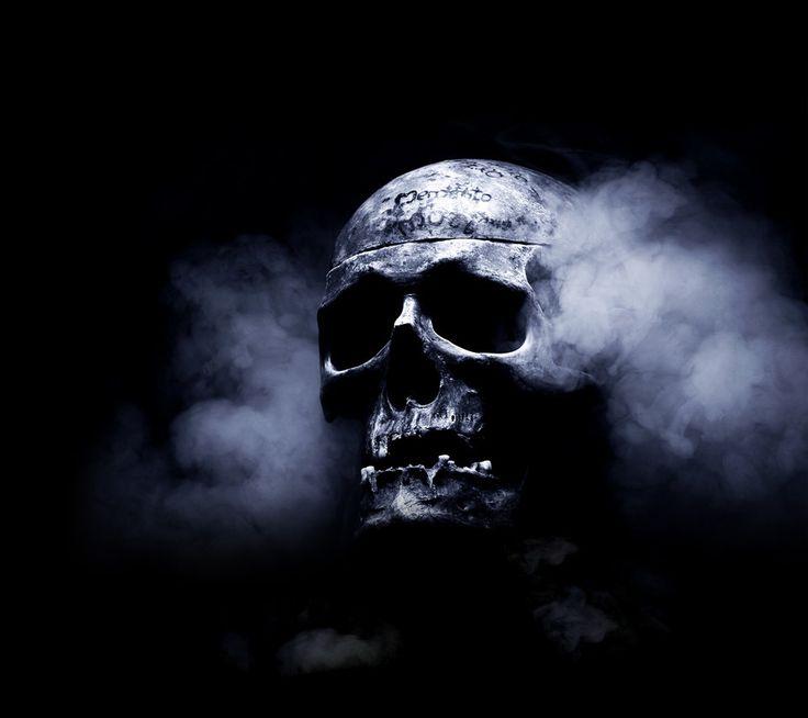 Of scary skull high definition wallpaper desktop wallpaper - Scary skull backgrounds ...