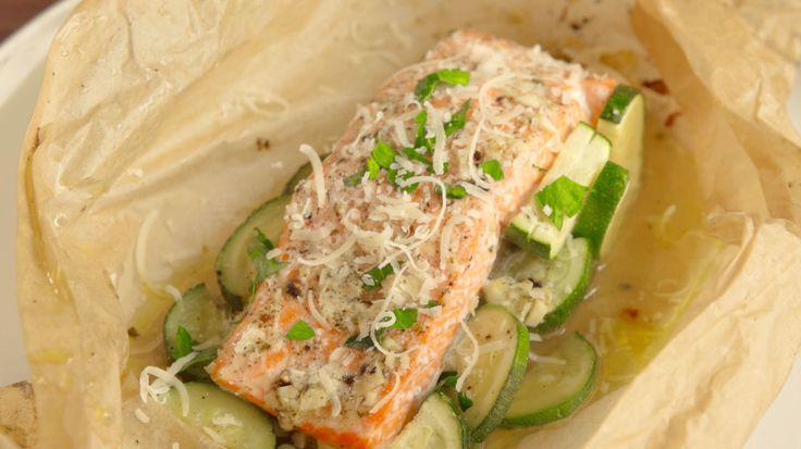 Garlic Butter Salmon  - Delish.com