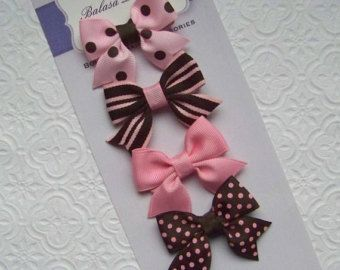 Boutique Little Ponies Spike Hair Bow by Balasadesigns on Etsy