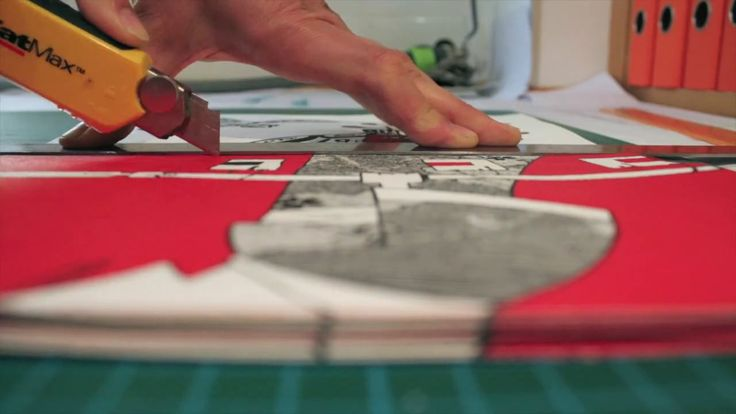 This video shows the production process of our very first handmade book. It was entirely handmade at Qual Albatroz's workshop: the content creation, the silkscreen…