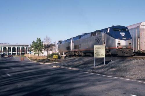 The Amtrak Auto Train - Photos and Tips: The Amtrak Auto Train in Lorton, Virginia