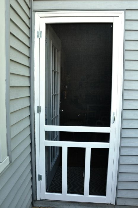 17 best ideas about screen doors on pinterest wood for Inside mount retractable screen door