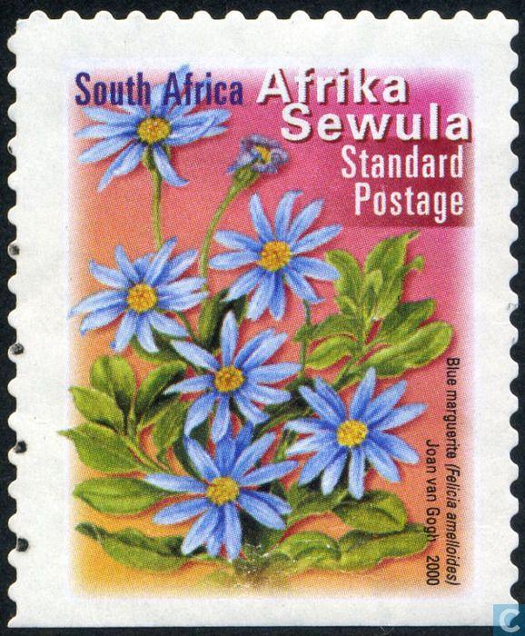Timbres-poste - Afrique du Sud - Flore et faune (Sewula)