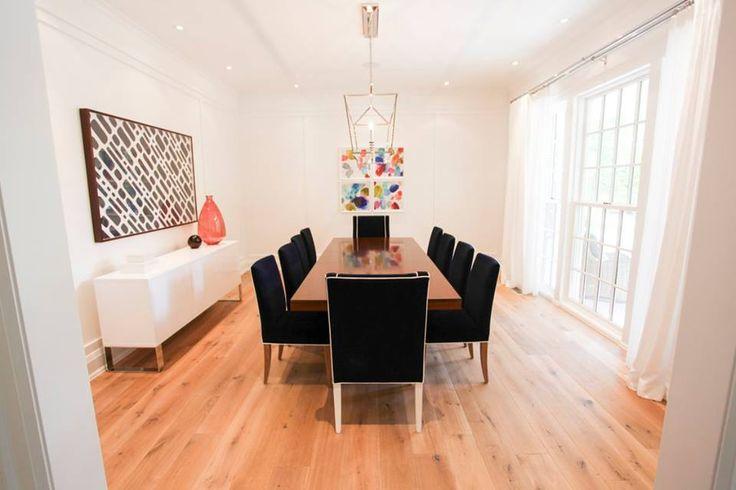 luxury dining room custom-built by Carlos Jardino and the PCM Inc Team