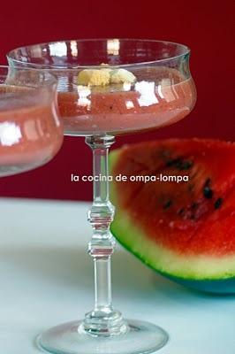 Gazpacho de sandia...