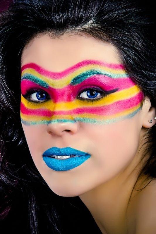 Fashion Native American Woman Photographer Jared Ribic MUAH Jenny U0026quot;Memphisu0026quot; Ribic (Crime Of ...