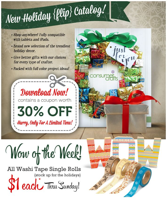 215 best images about consumercrafts newsletters on pinterest for Promo code for consumer crafts