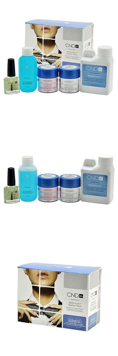 Acrylic Powders and Liquids: Cnd Enhancement Retention Liquid Powder Starter Pack + Solaroil Acrylic Nail Kit -> BUY IT NOW ONLY: $37.99 on eBay!