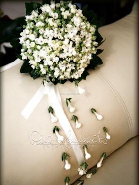 Bouquet di fiori bouvardia