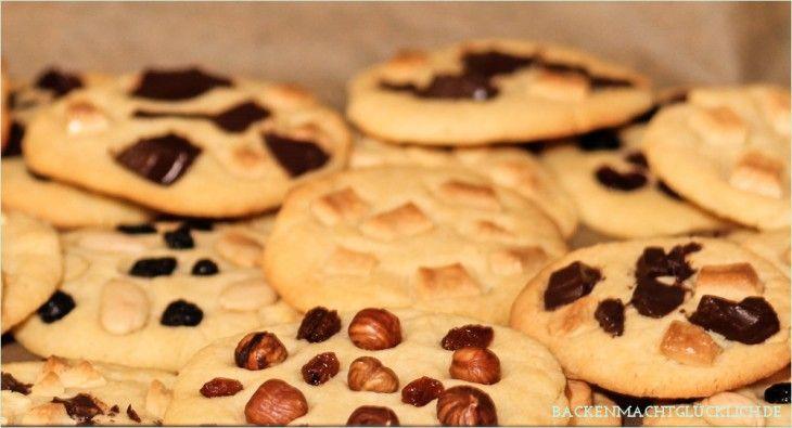 Chewy American Cookies – Harte Schale, weicher Kern
