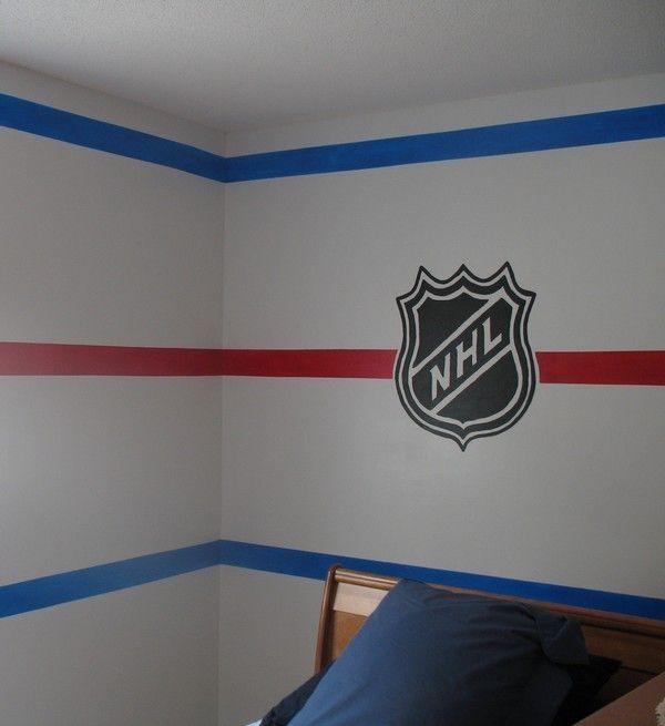 Bedroom Ideas Hockey best 25+ hockey room ideas on pinterest | boys hockey bedroom