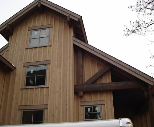 17 best images about board and batten on pinterest green for Best wood for board and batten siding