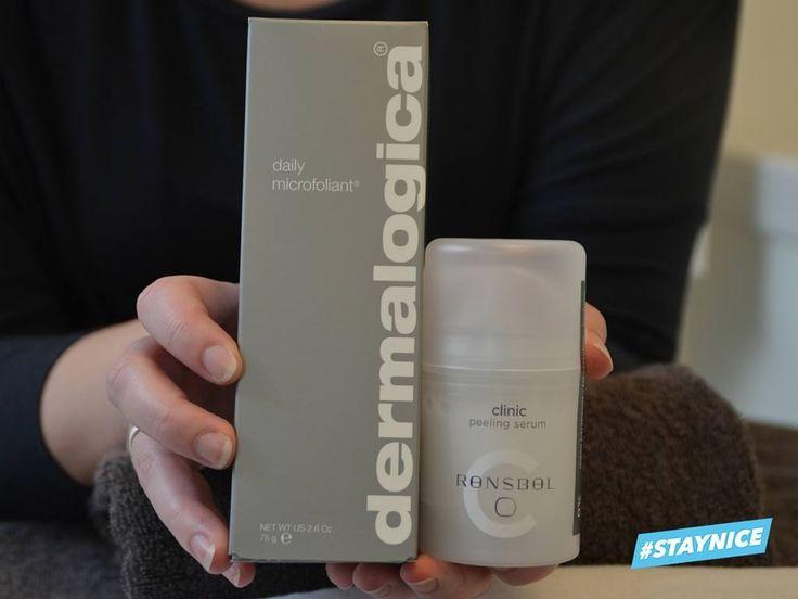 9 hudplejeprodukter kosmetologen anbefaler til efteråret! - Ekfoliering! Dermalogica og Rønsbøl! - Ingen parabener - Ingen parfume!