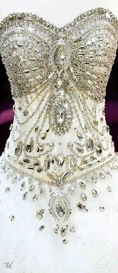 Just love the sparkly beading!