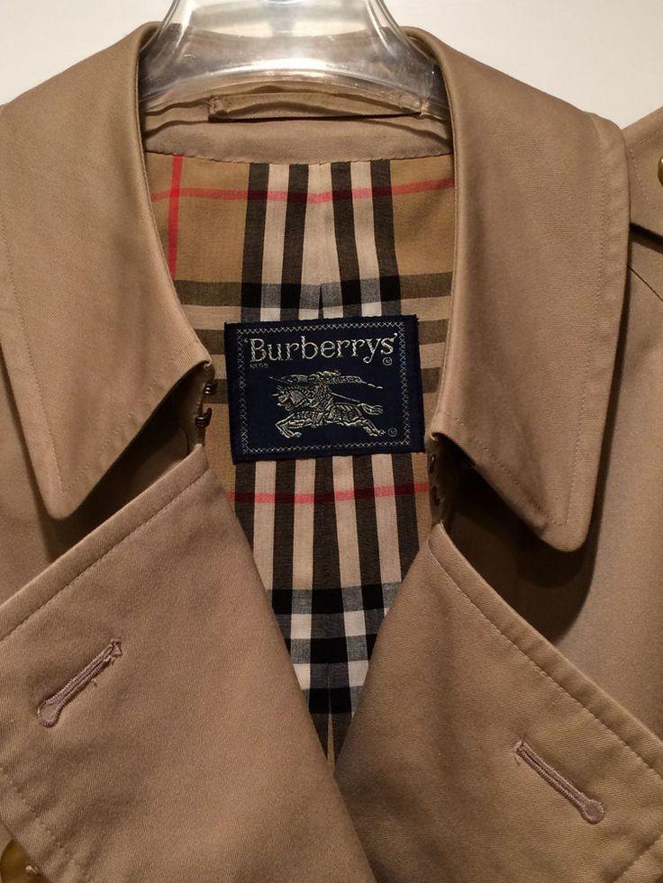 rivenditore all'ingrosso 9c1e8 1bf16 burberry trench coat ebay
