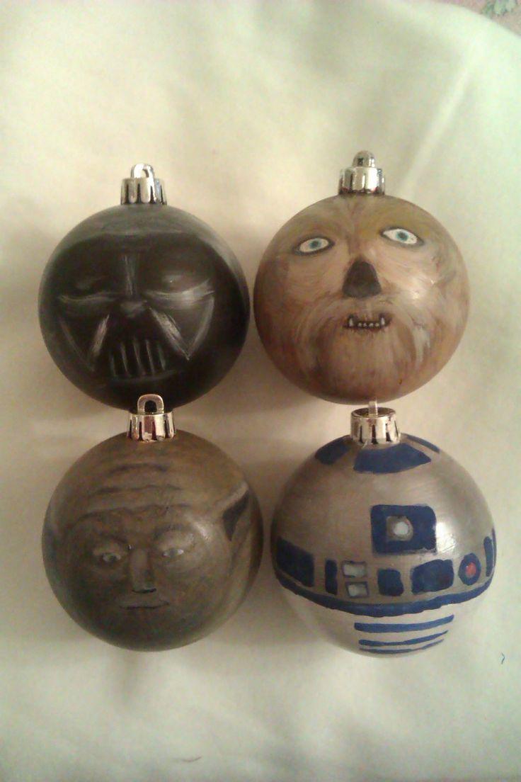 Елочные украшения по мотивам Звездных Войн