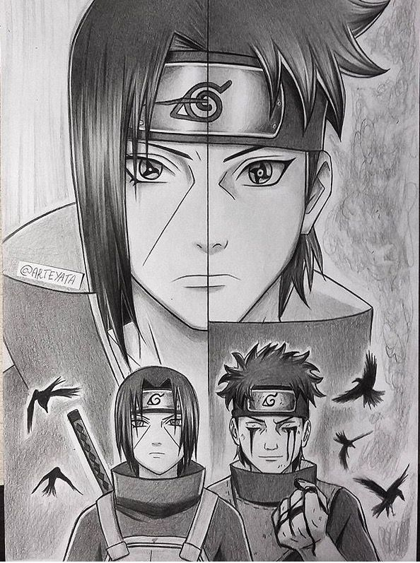 Itachi et Shisui Uchiwa, deux personnes naturellement gentilles et fortes.