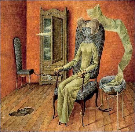 Mimetismo, 1960. (Remedios Varo)