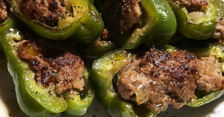 ご飯が進む簡単ピーマンの肉詰め by 海賊王クック [クックパッド] 簡単おいしいみんなのレシピが253万品
