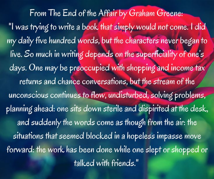 love and hate in the novel the end of the affair by graham greene The end of the affair (book) : greene love, hate and god the book seemed like my favorite graham greene novels i love how the story is told in the first.