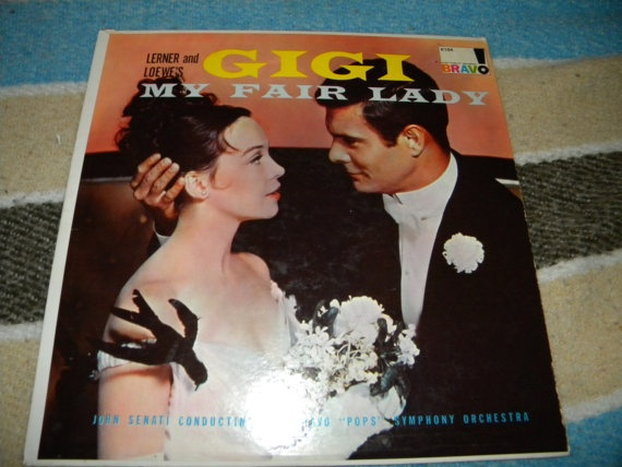 Lerner and Loewe's Gigi My Fair Lady 33 LP by IslandThoughtsX2, $9.99