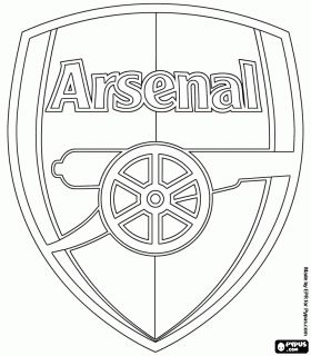 soccer or football clubs s emblems europe coloring pages