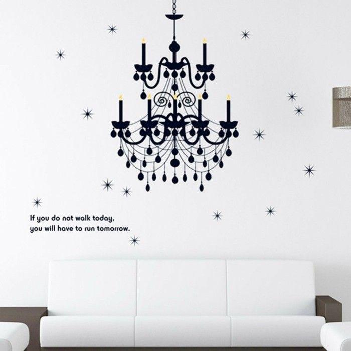 251 best Wandgestaltung Ideen images on Pinterest Couch, Home - wandtattoo braune wand