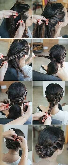 Easy hairstyles and new styles  (Lau Fancy) Pinterest