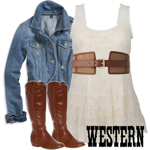 PLUS SIZE..WESTERN, created by jonte.polyvore.com
