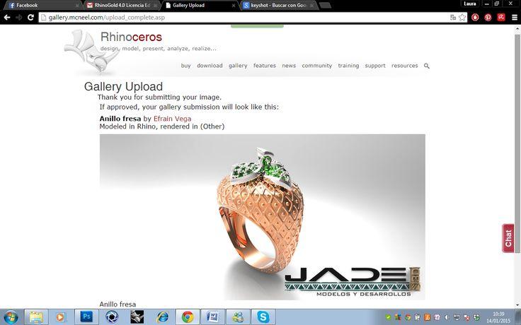 fresas tambn en la galeria de la pagina de rhinoceros 3d
