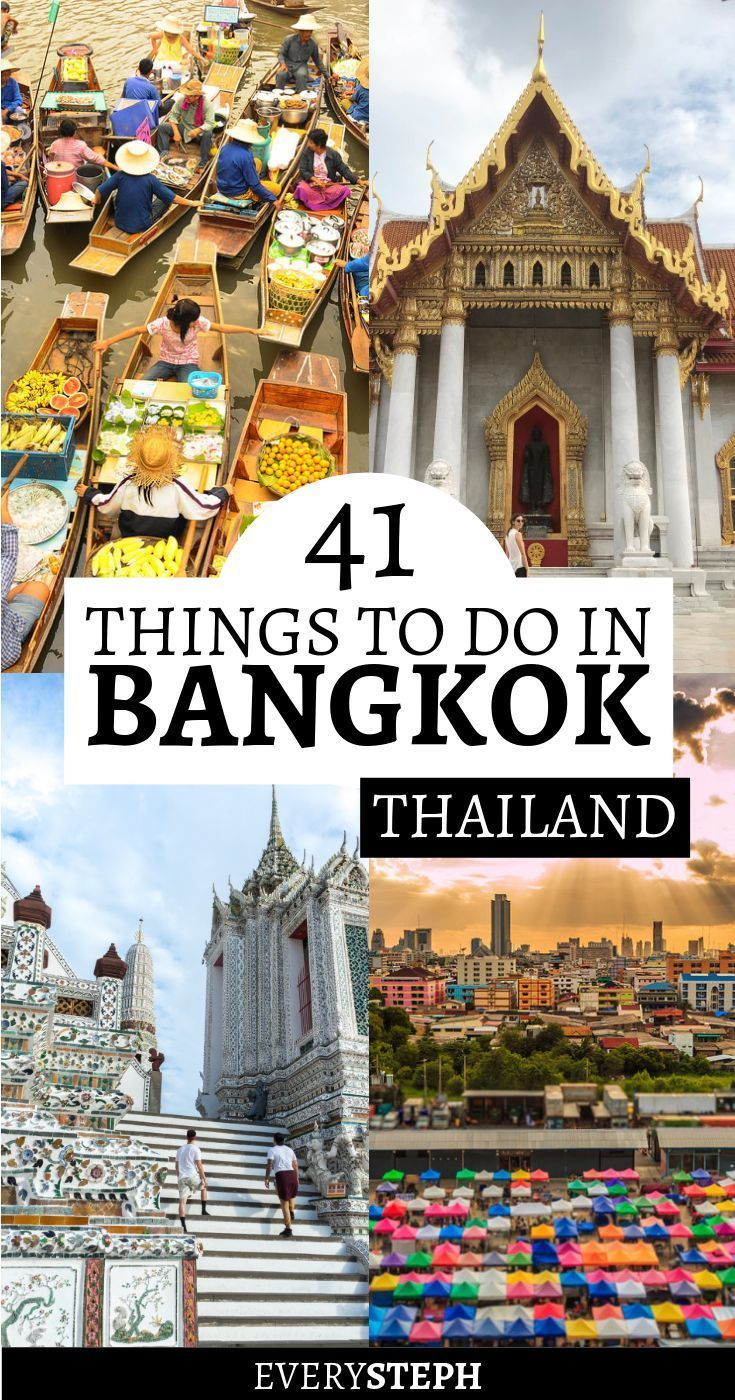 The Epic List of 41 Things To Do in Bangkok, Thailand (with a Map