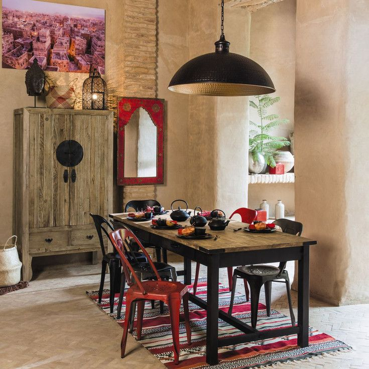 estilo oriental comedor maisons