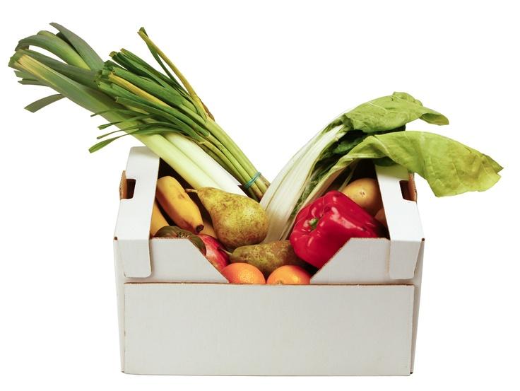 Cistella infantil:   Selecció de fruita i verdura ecològiques segons les recomanacions de Cristina Bedmar, nutricionista de la Fundació Pere Mata i professora associada de la Universitat Rovira i Virgili.