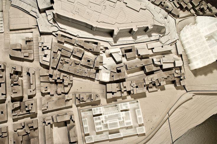 Jornet Llop Pastor Arquitectes – Concurso transformación urbana del barrio de Sant Jaume en Tortosa, Tarragona (model by Buit Taller)