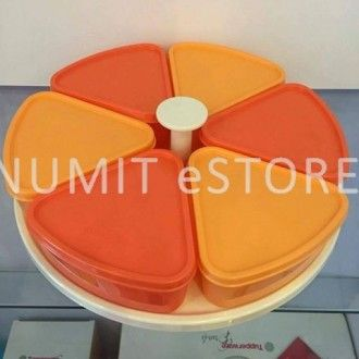 Tupperware Harmony Carousel Orange Colour by NUMIT