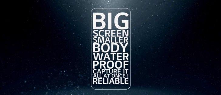 LG G6 Teaser Shows minimum-bezel and waterproof phone