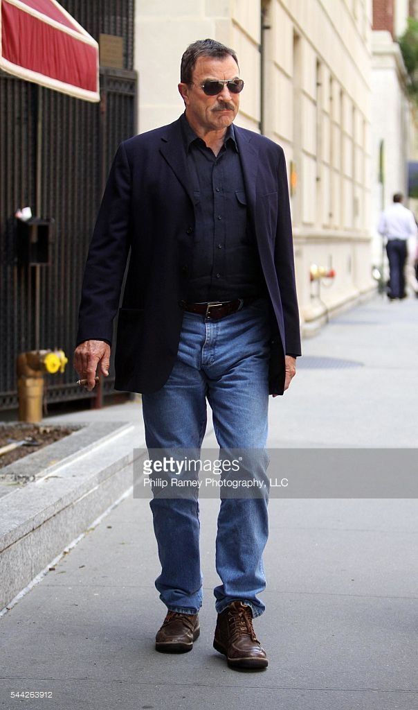 New York, May 6th t 2010 *EXCLUSIVE* TOM SELLECK was spotted out and about in Manhattan, NYC. PGlg68