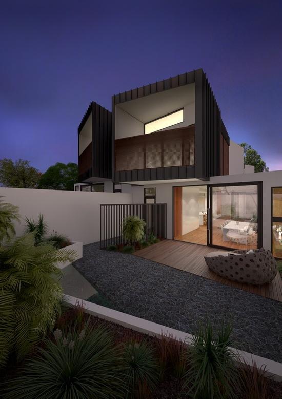Beautiful Melbourne Home By James Dawson Landscape