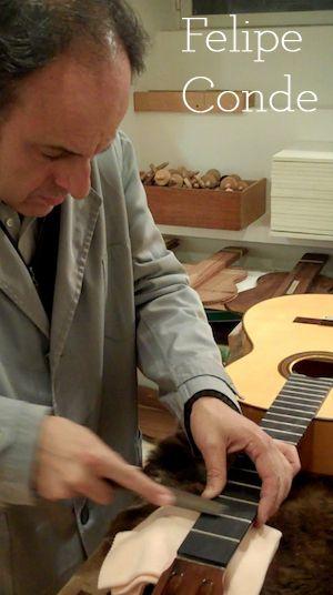 Luthier: Felipe Conde « Blog – Guitar Salon International