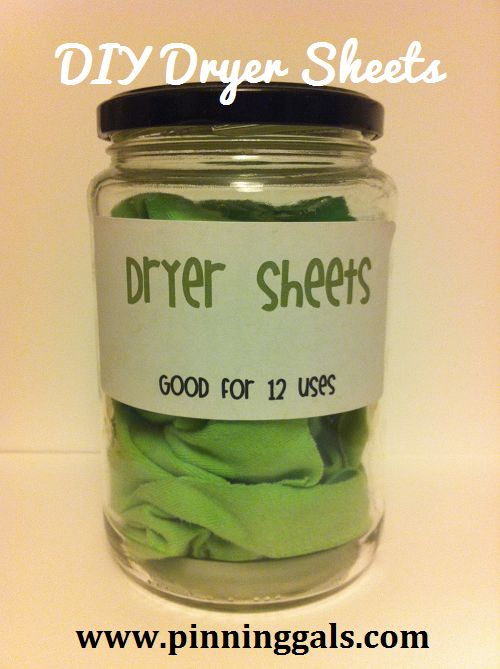 Reusable Eco Friendly Dryer Sheets