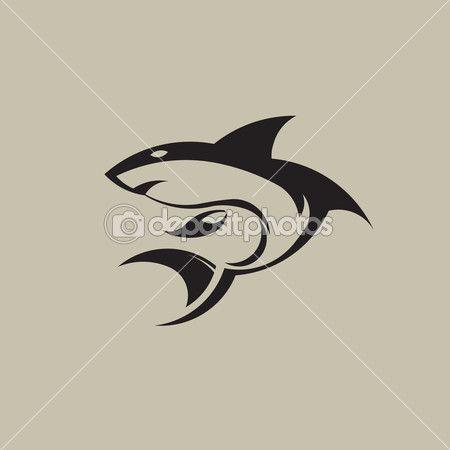 Shark logo image. — Stock Illustration #46472241