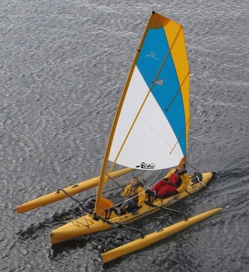 The Hobie Tandem Island an amazing 'sail yak