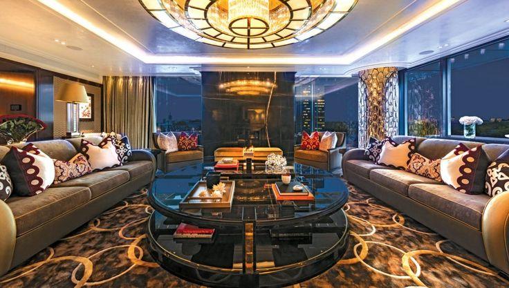 Sneak Peek: Inside a Bespoke London Penthouse | See more at https://luxurysafes.me/blog/bespoke/sneak-peek-inside-bespoke-london-penthouse/ | #Penthouse #London #bespoke #luxuryfurniture #luxurylifestyle #artdeco #moderndesign #luxurysafes