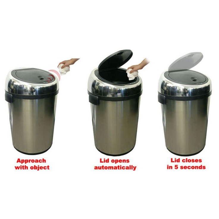 Commercial Size Kitchen Trashcan