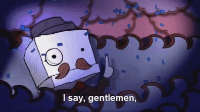 "BattleBlock Theater GIF ""I say, gentlemen, I do believe we ..."