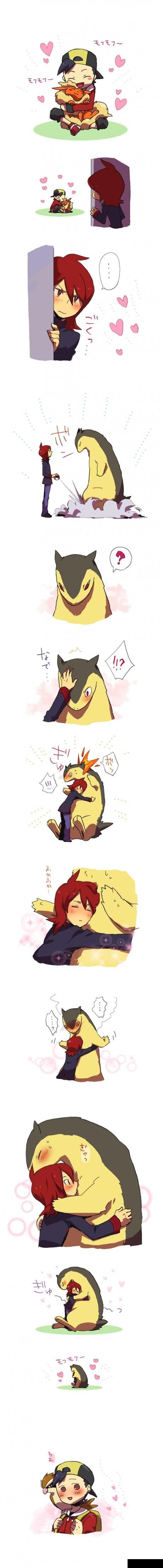 ... I feel the same way. =u= *hugs both Johto Fire and Water starters and Espurr*