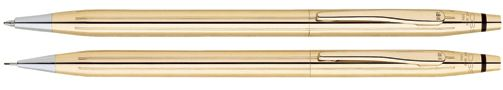 Cross Classic Century 18 Karat Gold Pen Pencil Set